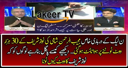 Mujeeb Rehman Shami Making Fools of PMLN Supporters