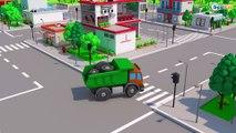 Curioso Trator e o Pequeno Carros na cidade | Desenhos animados carros bebês compilação de 54 min