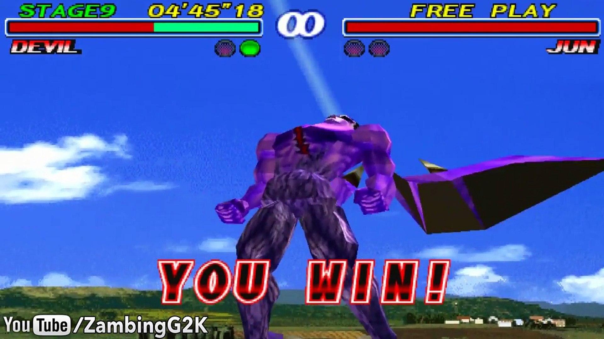 Tekken Evolution Of The Devil Gene Devil Kazuya Devil Jin