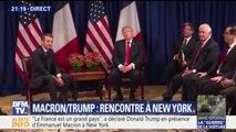 Rencontre entre Emmanuel Macron et Donald Trump à New York avant l'Assemblée générale de l'Onu