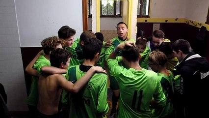 Cri de guerre après la victoire 4-1 face à l'US Étouy le 17/09/2017 en Coupe de l'Oise