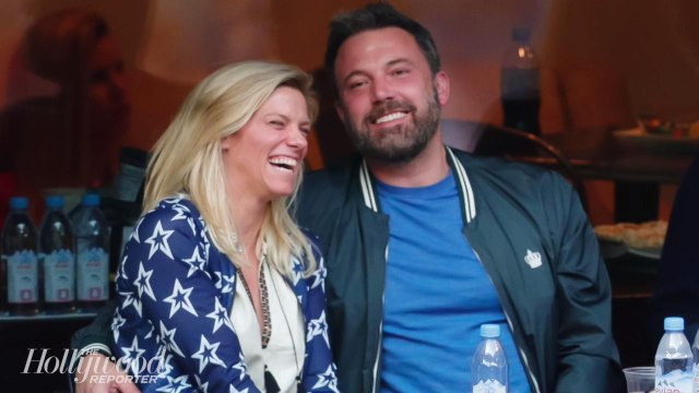 Ben Affleck and Lindsay Shookus Arm in Arm at The Emmys   THR News