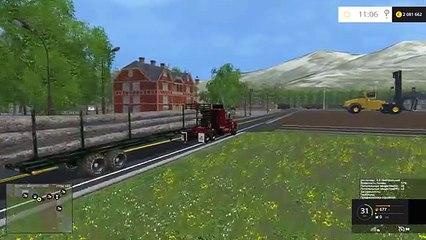 Farming Simulator new LETOURNEAU FDR Logging Machine