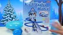 Génial par par ce électrique amusement amusement Jeu enfants manchot course course faire glisser jouets Surprise de ski