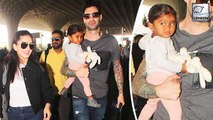 Sunny Leones Daughter Nisha Confidently Poses For Shutterbugs