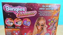Blingles Glimmer Glam Styler Studio Create Decorate With GLITTER Stickers