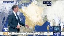De la pluie sur l'est de la France et des températures plus douces dans l'ouest ce mardi