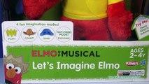ELMO SESAME STREET Elmo the Musical Lets Imagine Elmo YouTube Toy