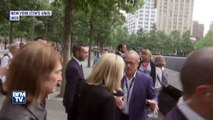 En déplacement à New York, Brigitte Macron visite Ground Zero