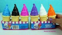 Helados de Burbujas Aprende los Colores| Ice Cream Bubbles