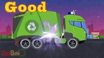 Niños mal para buena Niños monstruo de miedo calle camiones vehículos vídeo Vs  