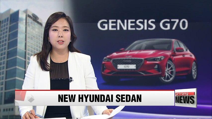Hyundai Motor hopes to turn fortunes around with Genesis G70