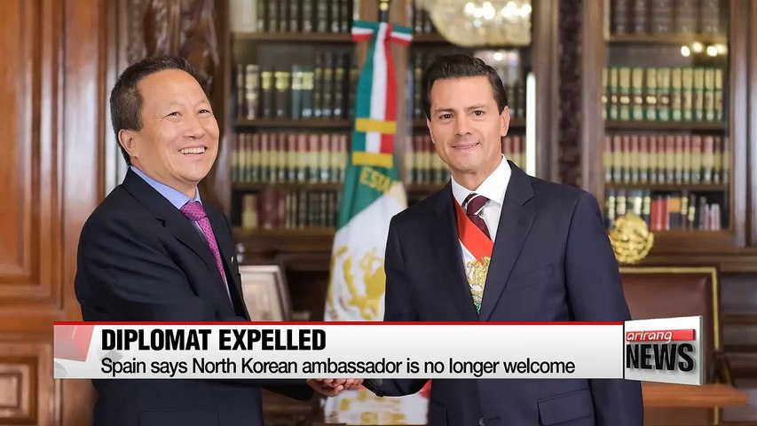 Spain is latest nation to expel North Korean ambassador