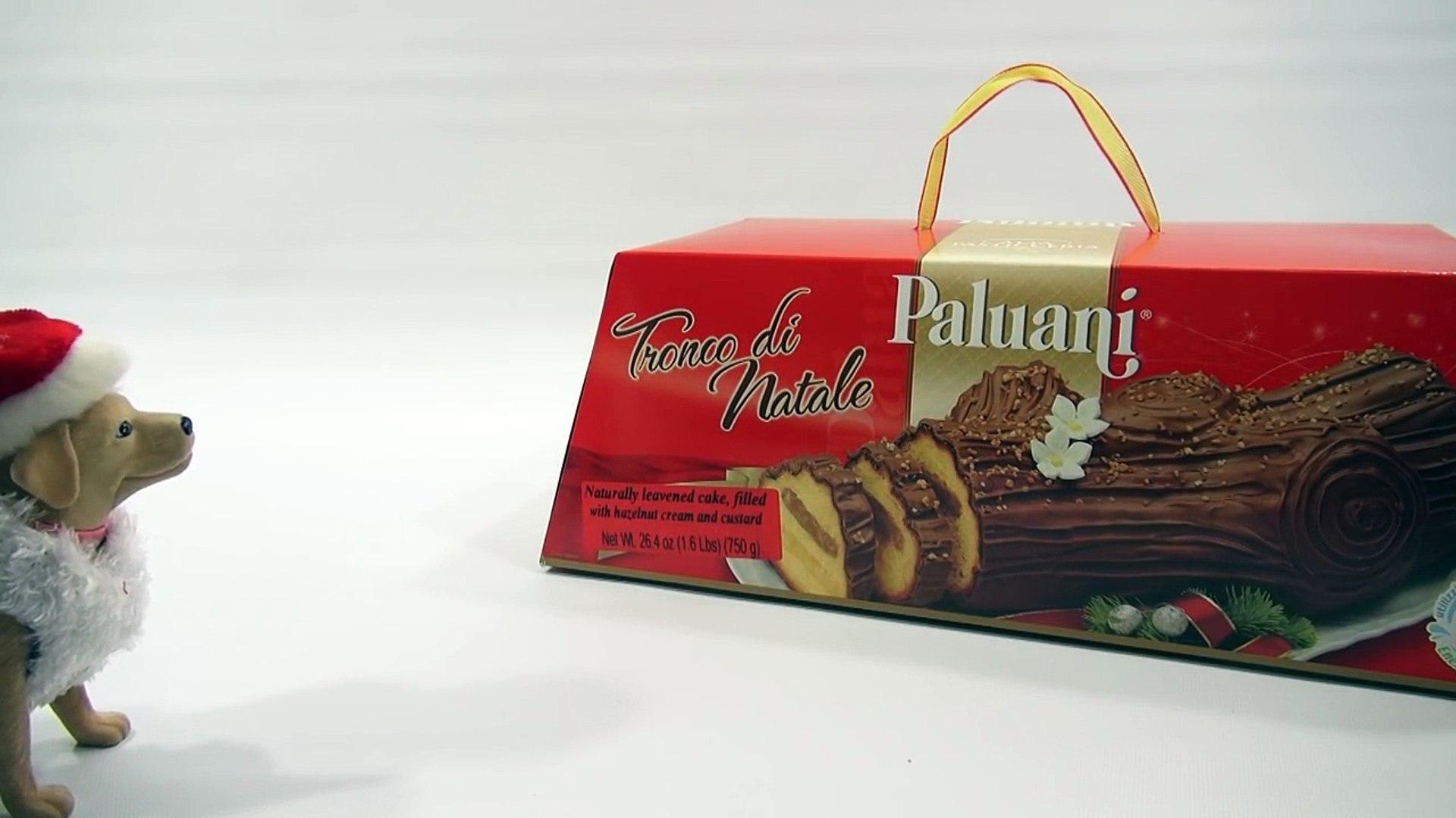 Tronco Di Natale Youtube.Paluani Tronco Di Natale Cake Holiday Christmas Yule Log Dessert Yellow Cake Covered In Chocolate