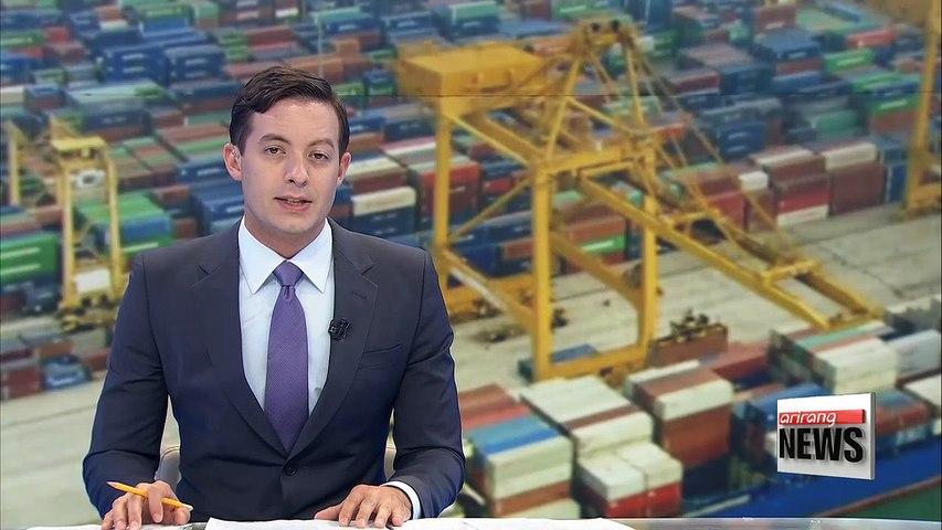 S. Korea's exports grow fastest among world's top 10 exporters