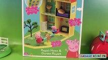 Maison et Jardin de Peppa Pig Jouets et Super sand Peppas Home & Garden Playset