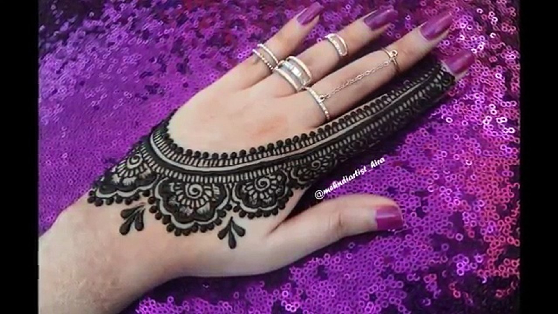 Diy Henna Designs How To Apply Easy Simple New Stylish Mehndi Designs For Hands Tutorial For Eid