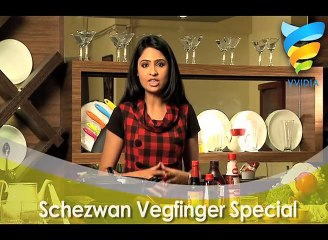 Schezwan Veg Finger for kids