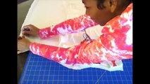 HOW TO MAKE A BAT WING DRESS EASY