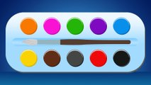 Truck Color Palette ☆ Learn Colors with Color Palette for Children by Learn Colors 3D Family