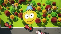 Fire Brigades Monster Trucks & Fire Helicopters | Monster Fire Trucks Cartoon for Kids!
