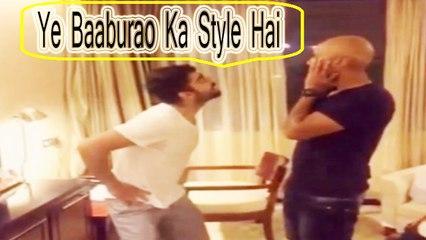 "Virat Kohli makes Dubsmash debut in style | ""Ye Baaburao Ka Style Hai"""