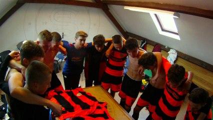 Cri de guerre U18 suite à la victoire 4-0 en coupe d'Artois face à Aubigny
