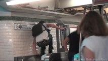 Upupuper les fraudeurs dans le métro parisien (Caméra cachée)