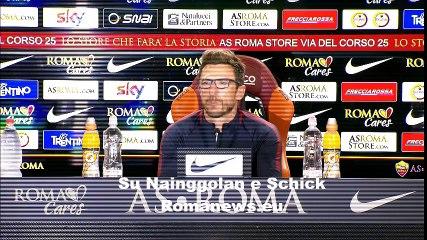 Benevento-Roma, conferenza stampa Di Francesco