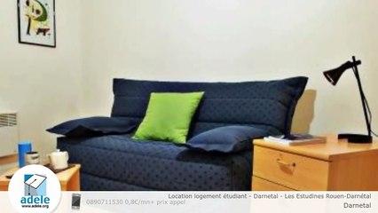 Location logement étudiant - Darnetal - Les Estudines Rouen-Darnétal
