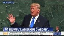 """Trump s'en prend à """"Rocket Man"""" et n'exclut pas de """"détruire totalement la Corée du Nord"""""""