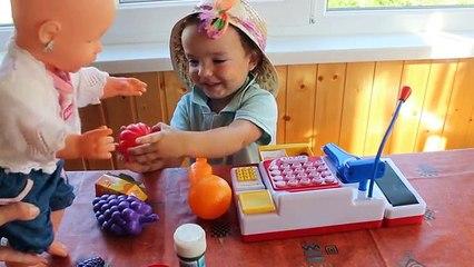 Niños para supermercado en Niños para ✿ Juega juguetes supermercado caja registradora keenway sh
