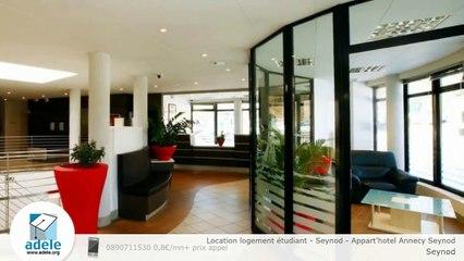 Location logement étudiant - Seynod - Appart'hotel Annecy Seynod