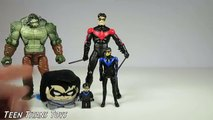 NIGHTWING Robin COLLECTION with Nightwing Mini Figure, Plush Nightwing and Robin by Teen Titan Toys