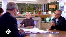"""C à Vous : Emmanuel Macron """"ébranlé"""" par le retrait de François Hollande de la présidentielle"""