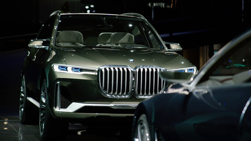 BMW X7 iPerformance Concept Preview at IAA 2017
