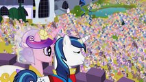 My Little Pony FriendShip is Magic - Princess Cadance & Shining Armor Wedding Day [HD]