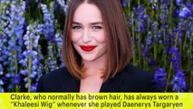'Game Of Thrones': Emilia Clarke Goes Blonde For Final Season   News Flash   Entertainment Weekly