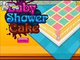Bébé gâteau cuisine amusement amusement Jeu des jeux douche douche doux gameplay