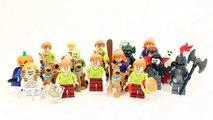 LEGO new SCOOBY-DOO SETS FULL MINIFIGURE RANGE!