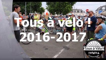 TAVCA - Bilan 2016-2017 Tous à Vélo ! Cholet-Agglo