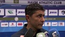 Après HAC - Sochaux (1-0), réaction d'Oswald Tanchot