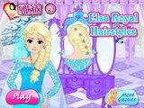 Gelé coiffures et Anna Elsa coiffures coeur froid Anny Elzy