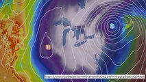 UK weather: Rain sweeps in form the Atlantic as dry weather comes to an end