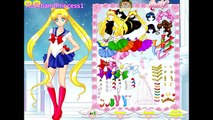 Online Sailor Moon Games - Sailor Moon Girls Dress Up Game