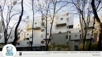 Location logement étudiant - Nanterre - Univercity Maurice Ravel