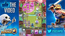 """Clash Royale – HOW IS THIS POSSIBLE?! """"OMG!"""" SPAWNING 18 'ICE WIZARDS! (Clash Royale Funny Moments)"""