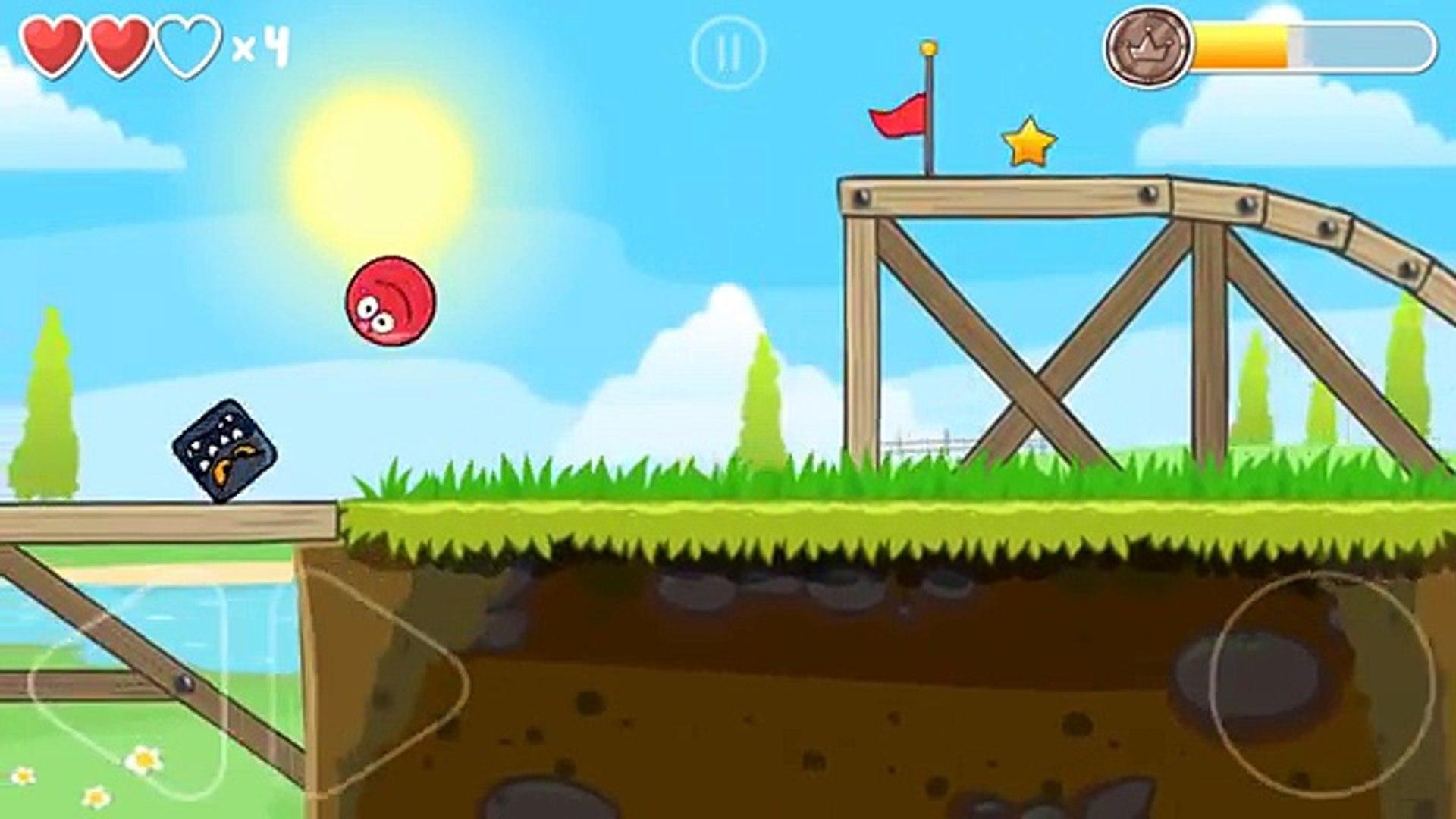 Мультик игра про Красный Шарик [4] по имени red ball [4] от я gamer