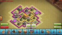 Clash of Clans TH6 Tropy/Clan War Base - COC Town Hall 6 Best Defense Strategy