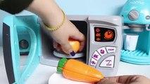 Cuisine Coupe Coupe aliments domicile maison juste juste m cuisine comme comme micro onde four pâte à modeler jouet jouets Playset v